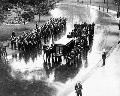 New 8x10 Photo: Funeral Procession for Slain President William McKinley - 1901