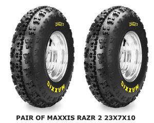 Maxxis Razr 2 6 PLY Front Tires - SIZE 23x7x10-  SOLD IN PAIRS