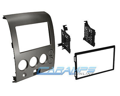 NEW DOUBLE 2 DIN CAR STEREO RADIO DVD PLAYER DASH INSTALLATION MOUNTING