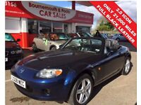 MAZDA MX-5 2.0 ICON 2d 160 BHP ONLY 21,000 MILES, FULL LEATHE (blue) 2008