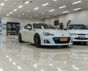 2013 Subaru BRZ MY13 White 6 Speed Manual Coupe Carss Park Kogarah Area Preview