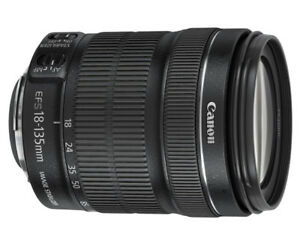 Lentille Zoom  Canon EF-S 18-135mm IS Image Stabilizer STM