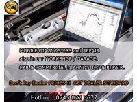 DIAGNOSTICS & REPAIR SERVICE -MOBILE & GARAGE -- AUTOMATIC TRANSMISSIONS -