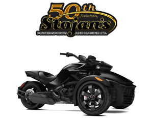 New 2018 Can-Am Spyder F3 Rotax 1330 ACE in-line 3 cylinders