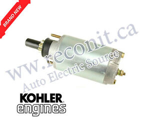 Starter for Lawn Tractors - Kohler Engine