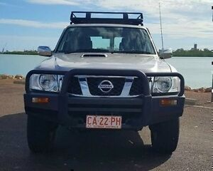 2011 Nissan Patrol GU 7 MY10 ST Silver 5 Speed Manual Wagon Berrimah Darwin City Preview