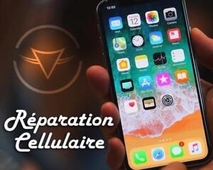 Réparation Cellulaire RAPIDE & GARANTI