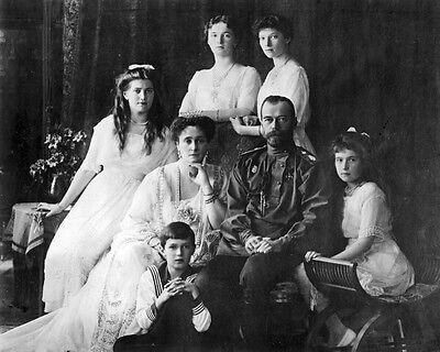 New 8x10 Photo: Last Tsar of Russia Nicholas II & Romanov Family