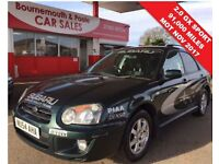 SUBARU IMPREZA 2.0 GX SPORT 4WD ESTATE MOT OCT 30TH 2017 (green) 2004