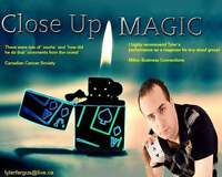 Amazing  Close Up Magician For Hire