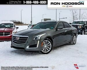 2016 Cadillac CTS Luxury AWD NAV ROOF V6 LOW KM