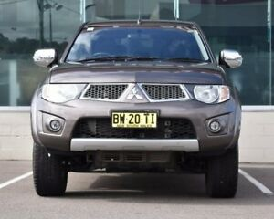 2012 Mitsubishi Triton MN MY12 GLX-R Double Cab Grey 5 Speed Sports Automatic Utility