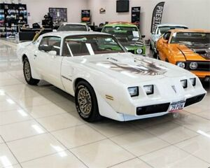 1978 Pontiac Firebird Formula White Coupe Carss Park Kogarah Area Preview
