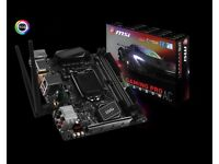 MSI Z270I Gaming Pro Carbon AC Mini-ITX LGA1151 Motherboard