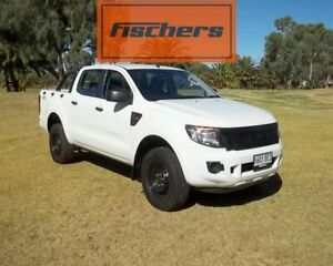 2015 Ford Ranger PX XL Double Cab White 6 Speed Sports Automatic Utility Murray Bridge Murray Bridge Area Preview