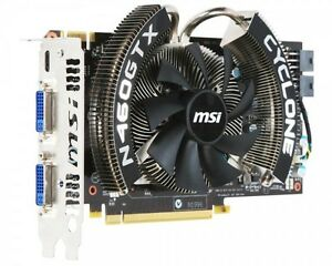 msi cyclone gtx 460 graphics card