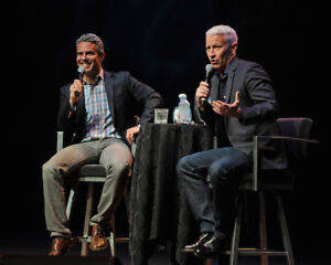 Correspond w/ANDERSON COOPER & Andy Cohen in TO - 9th row seats