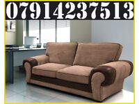 THIS WEEK SPECIAL OFFER BRAND NEW TANGEANT 3 + 2 OR CORNER SOFA 45011
