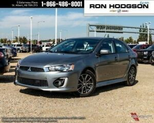 2017 Mitsubishi Lancer Sportback HTD SEATS AUTO LOW KM HATCH