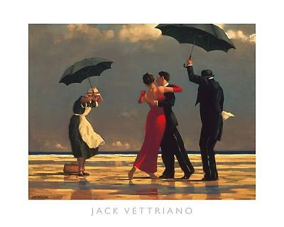 The Singing Butler by Jack Vettriano Dance Romance Print 31.5 X23.5 for sale  Sacramento