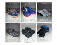 Souliers et sandales GARÇON grandeur de 5 à 8