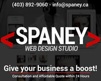 High Quality, Affordable Web Design - Spaney Web Design Studio