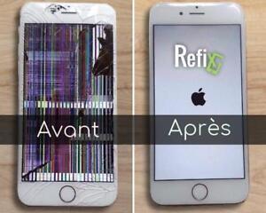 Réparation iPhone / iPad RAPIDE & Garanti
