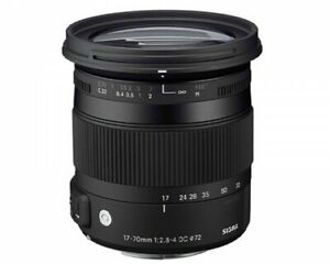 Sigma 17-70mm DC HSM for Canon