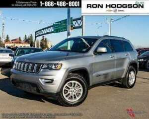2018 Jeep Grand Cherokee LEATHER HTD SEATS LOW KM 4X4 !!