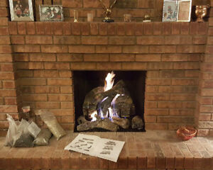 fireplace sales service , repair Clean outs and Summer storage b