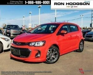2018 Chevrolet Sonic LT RMT START HTD SEATS SUNROOF RS PKG