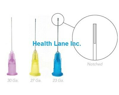 Mark3 Luer-lock Dental Endodontic Irrigation Needles 23ga 27ga 30ga 1 Box100