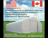 Trussed Frame Storage Building / Tent ( Available in Stock)