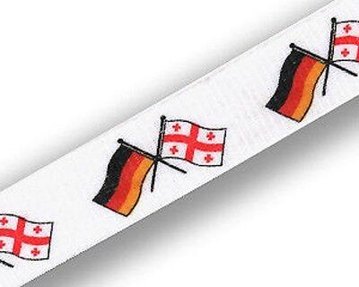 Schlüsselband Deutschland Georgien Lanyard Flagge