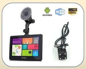 "7"" GPS Navigation + Dash Cam + Backup Camera + Android Wifi+++"