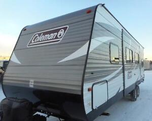 2017 COLEMAN 263 BH TRAVEL TRAILER - AFFORDABLE BUNK BED RV!