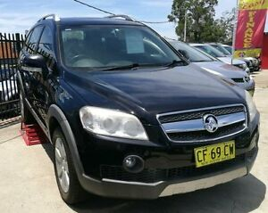 2008 Holden Captiva Black Automatic Wagon Lansvale Liverpool Area Preview