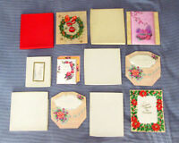 Vintage 1940-50's Holiday Greeting cards - Rust Craft & Coutto