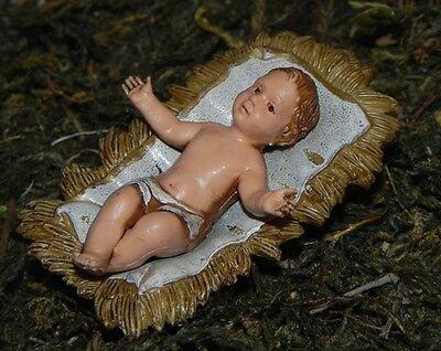 Baby Jesus Nativity Set Pesebre Landi Presepio Creche Manger Scene Figures