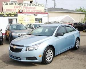 """"""" ACTIVE STATUS """" LOW KMS """" 2011 CHEVROLET CRUZE AUTO ONLY 19KM"""