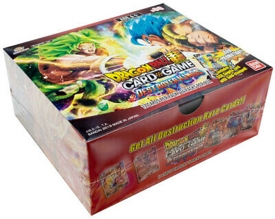 Bandai Dragon Ball Super Destroyer Kings Booster Box Factory Sealed Booster Box Dragon Ball