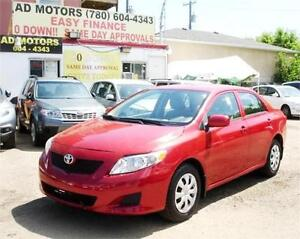 ON SALE!! 2010 TOYOTA COROLLA AUTO LOADED SPORTY 100% FINANCING