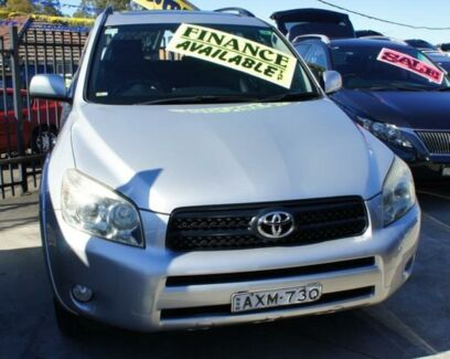 2006 Toyota RAV4 CRUISER L Silver Automatic Wagon Lansvale Liverpool Area Preview