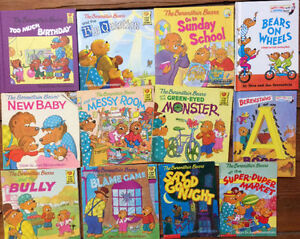 BERENSTAIN BEARS picture books $3 each or all 9 for $25