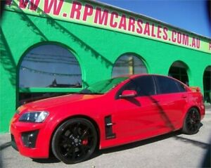 2008 Holden Special Vehicles GTS E Series Sting Red 6 Speed Auto Active Sequential Sedan