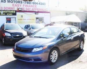 """ACTIVE STATUS""   2012 HONDA CIVIC EX SUNROOF AUTO LOADED SPORTY"