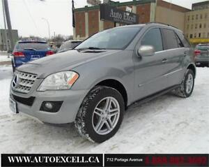 2010 Mercedes-Benz M-Class ML350 BlueTEC DIESEL AWD LEATHER