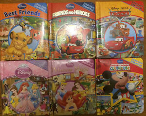 DISNEY'S LITTLE LOOK AND FIND Board Books $3 each or all 6/$10