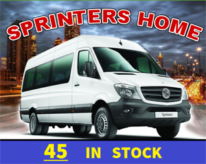 MERCEDES-BENZ SPRINTER DIESEL CARGO VANS SALE !! 45 IN STOCK !!