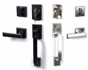 Residential Front Entry door handleset lockset BRAND NEW